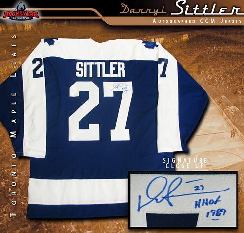 the latest 98286 64c2b Darryl Sittler Toronto Maple Leafs Blue CCM Jersey