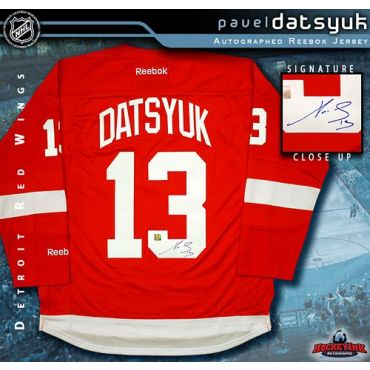Pavel Datsyuk Detroit Red Wings Red Reebok Premier Jersey