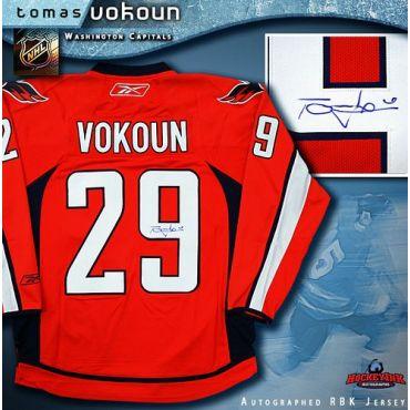 Tomas Vokoun Washington Capitals Autographed Red Reebok Premier Jersey