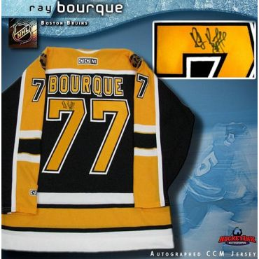 Ray Bourque Boston Bruins Autographed Black CCM Jersey