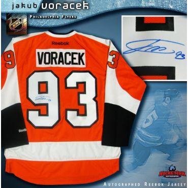 Jakub Voracek Philadelphia Flyers Autographed Orange Reebok Jersey