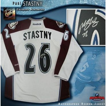 Paul Stastny Colorado Avalanche Autographed White Reebok Jersey