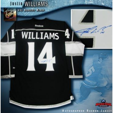 Justin Williams Los Angeles Kings Autographed Black Reebok Jersey