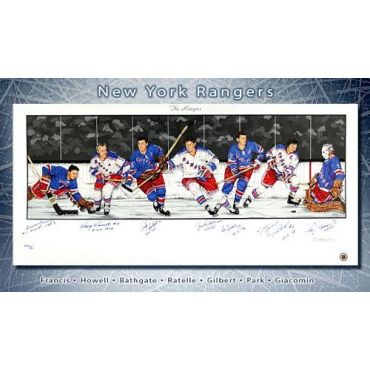 New York Rangers Limited Edition Lithograph