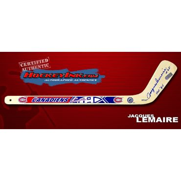 Jacques Lemaire Autographed Montreal Canadiens Mini-Stick