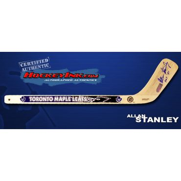 Allan Stanley Autographed Toronto Maple Leafs Mini-Stick