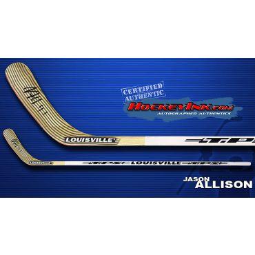 Jason Allison TPS Louisville Player Model Autographed Stick