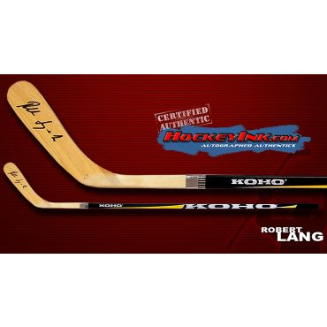 Robert Lang Autographed Koho Model Stick