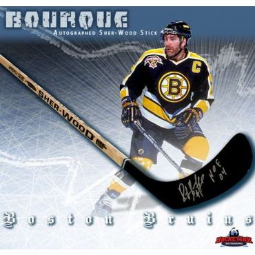 Ray Bourque Autographed Sherwood Model Stick