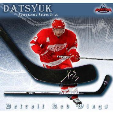 Pavel Datsyuk Autographed Reebok Model Stick