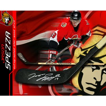 Jason Spezza Ottawa Senators Autographed Sher-Wood Model Stick