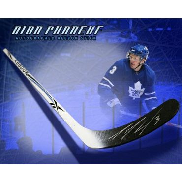 Dion Phaneuf Toronto Maple Leafs Autographed TPS Model Stick