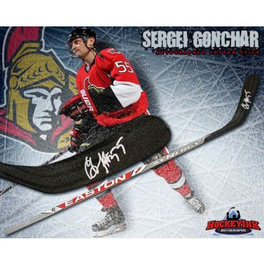 Sergei Gonchar Ottawa Senators Autographed Easton Model Stick
