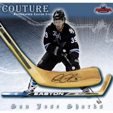 Logan Couture San Jose Sharks Autographed Easton Model Stick