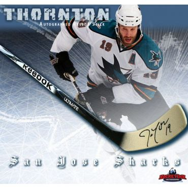 Joe Thornton San Jose Sharks Autographed Bauer Model Stick