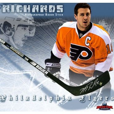 Mike Richards Philadelphia Flyers Autographed Bauer Model Stick