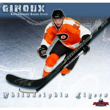 Claude Giroux Philadelphia Flyers Autographed Bauer Model Stick