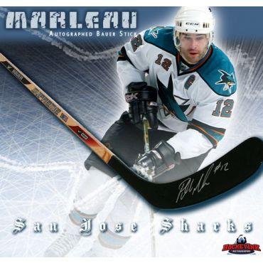 Patrick Marleau San Jose Sharks Autographed Bauer Model Stick