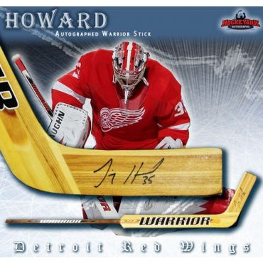 Jimmy Howard Detroit Red Wings Autographed Warrior Goal Stick