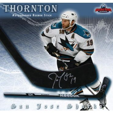 Joe Thornton San Jose Sharks Autographed Reebok Stick