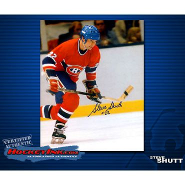 Steve Shutt Autographed Montreal Canadiens 8 x 10 Photo