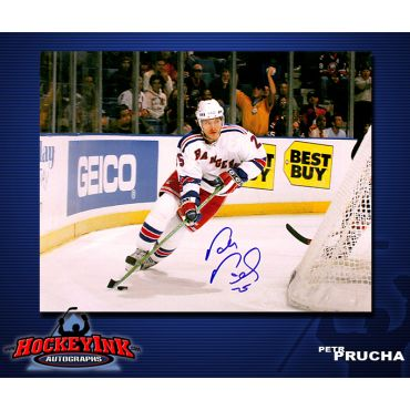 Petr Prucha New York Rangers 8 x 10 Autographed Photo