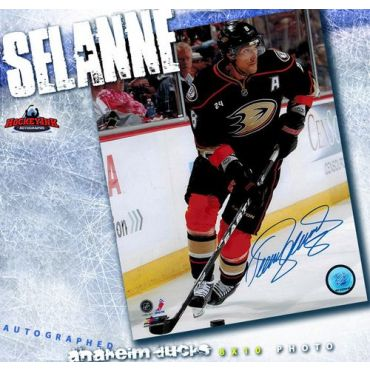 Teemu Selanne Anaheim Ducks Autographed 8 x 10 Photo