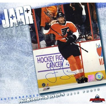 Jaromir Jagr Philadelphia Flyers Autographed 8 x 10 Photo