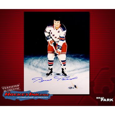 Brad Park New York Rangers 8 x 10 Autographed Photo