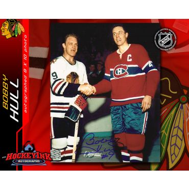 Bobby Hull Chicago Blackhawks Autographed 8 x 10 Photo