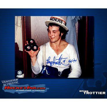Bryan Trottier New York IslandersAutographed 8 x 10 Photo