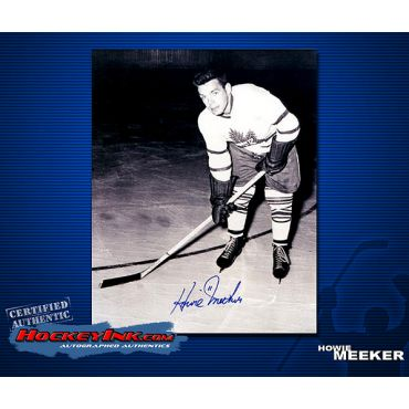 Howie Meeker Toronto Maple Leafs Autographed 8 x 10 Photo