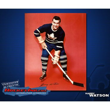 Harry Watson Toronto Maple Leafs Autographed 8 x 10 Photo