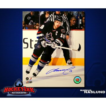 Markus Naslund Vancouver Canucks 8 x 10 Autographed Photo