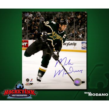 Mike Modano Dallas Stars 8 x 10 Autographed Photo
