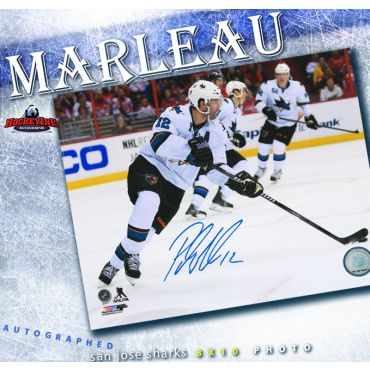 Patrick Marleau San Jose Sharks Autographed 8 x 10 Photo