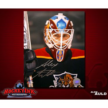 Alex Auld Florida Panthers 8 x 10 Autographed Photo