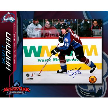 Scott Hannan Colorado Avalanche Autographed 8 x 10 Photo