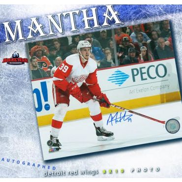 Anthony Mantha Detroit Red Wings Autographed 8 x 10 Photo