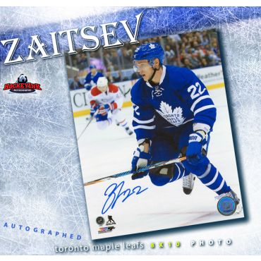 Nikita Zaitsev Toronto Maple Leafs Autographed 8 x 10 Photo