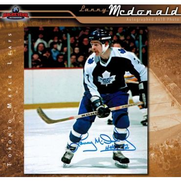 Lanny McDonald Toronto Maple Leafs 8 x 10 Autographed Photo