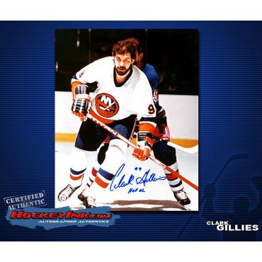 Clark Gillies 8 x 10 Autographed Photo
