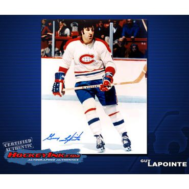 Guy LaPointe 8 x 10 Autographed Photo
