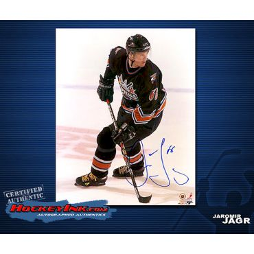 Jaromir Jagr Washington Capitals 8 x 10 Autographed Photo
