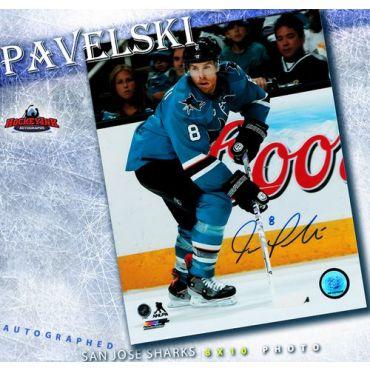 Joe Pavelski San Jose Sharks Autographed 8 x 10 Photo