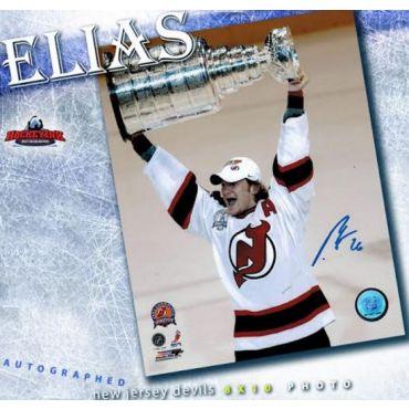 Patrik Elias Stanley Cup New Jersey Devils 8 x 10 Autographed Photo