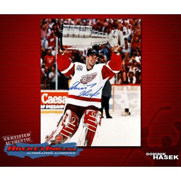 Dominik Hasek 8 x 10 Autographed Photo