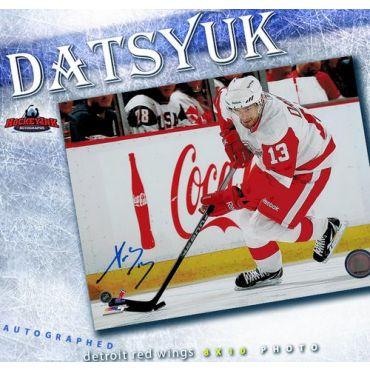 Pavel Datsyuk Detroit Red Wings Autographed 8 x 10 Photo