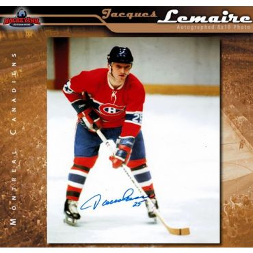 Jacques Lemaire Montreal Canadiens 8 x 10 Autographed Photo