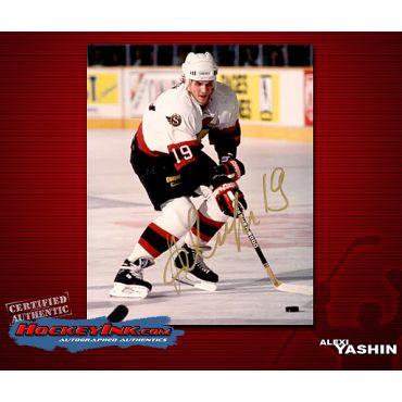 Alexei Yashin Ottawa Senators 8 x 10 Autographed Photo